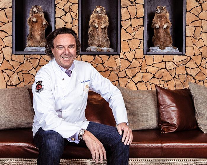 Swiss chef Reto Mathis