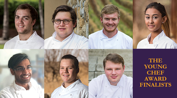 Young Chef Award Finalists Announced