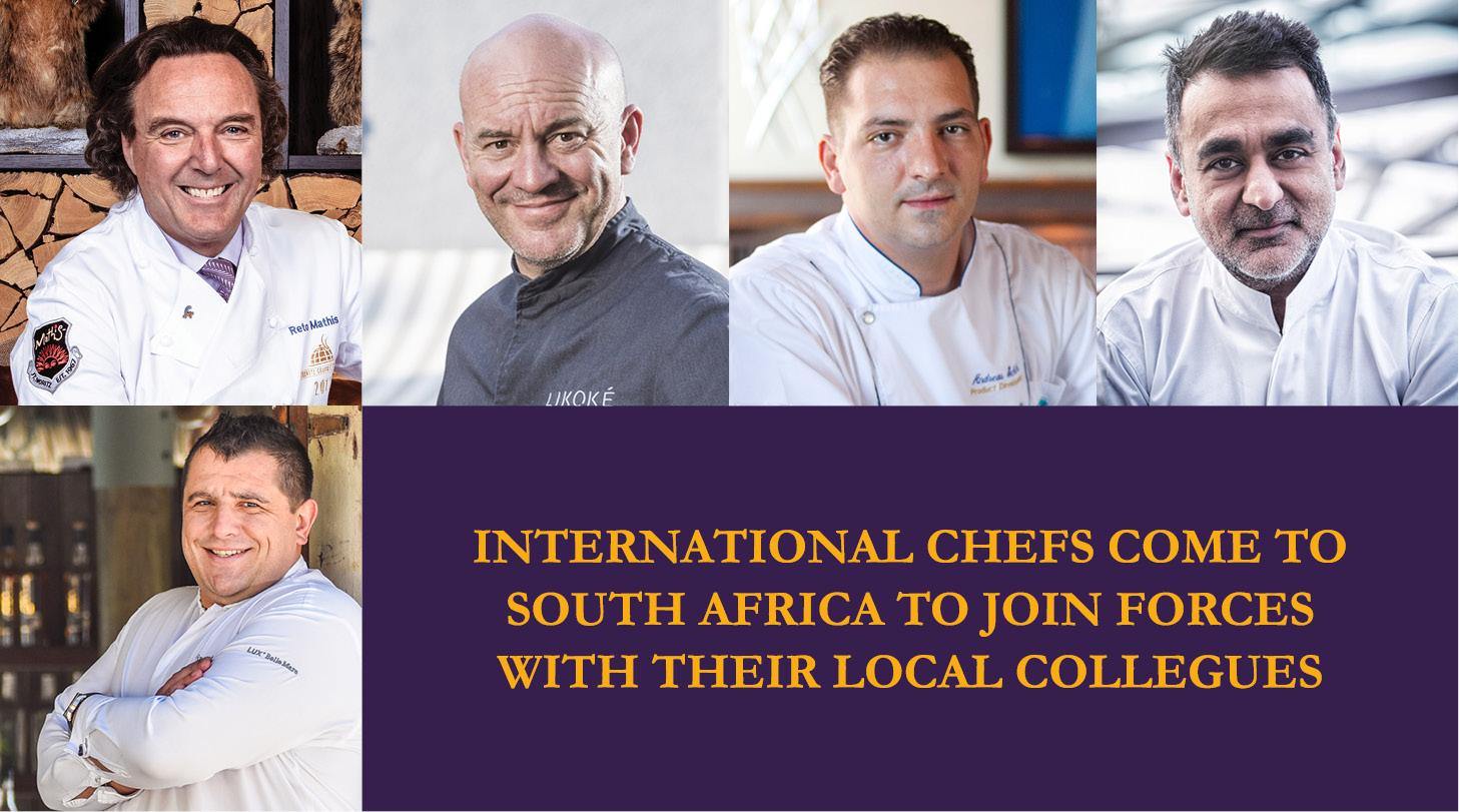Renowned International Chefs